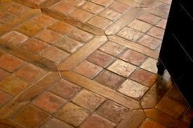 Terracotta Floor Tile Kitchen - french oak flooring kitchen mediterranean with french terracotta