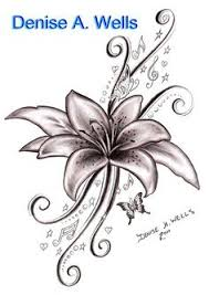 Flowers On Vines Tattoo Designs - roses with vines drawing rose vine drawing black rose vine