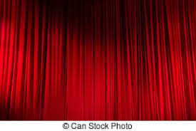 Movie Drapes Stock Photography Of Red Stage Drapes In A Movie Theatre Setting