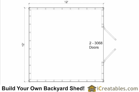 Floor Plans Storage Sheds 12x12 Shed Plans Gable Shed Storage Shed Plans Icreatables Com