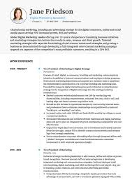 marketing resume templates marketing cv exles and template