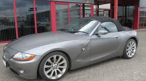 750383 bmw z4 roadster 3 0i e85 cabrio 231hp 09 03 grey 74681mil