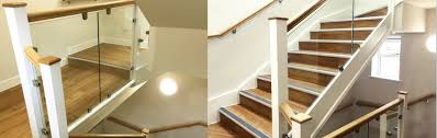 Glass Banisters For Stairs Glass Balustrade Www Aspireglass Co Uk