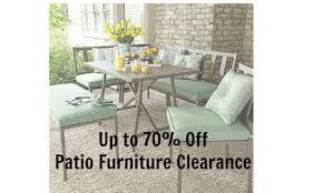 K Mart Patio Furniture Patio Furniture Clearance 70 Off At Kmart Southern Savers