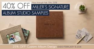 photo albums for sale sale 40 miller s signature album studio sles