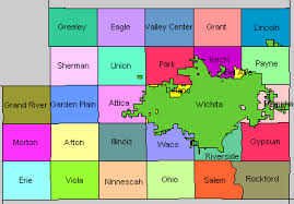 map of counties in kansas sedgwick county kansas kansas historical society