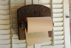 Toilet Paper Holder Wood Free Shipping Vintage Musical Toilet Paper Holder W Rare Roll