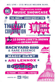 wedc music showcase ft thievery corporation wu tang clan