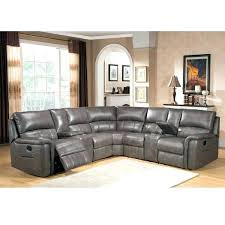 Sectional With Recliner Reclining Couch With Cup Holders Power Sectional Sofa Dual