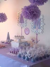 sofia the first centerpiece birthday party decoration monica