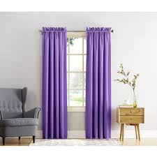 Purple Nursery Curtains by Eclipse Dayton Blackout Energy Efficient Kids Bedroom Curtain