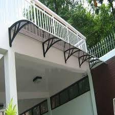 Awning Diy Cheap Diy Door Polycarbonate Canopy Awning With Wind Resistance