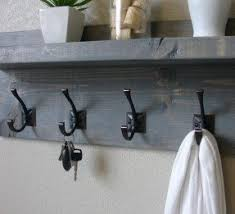 wall mounted coat racks with shelf foter