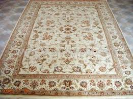 Silk Oriental Rugs Hand Knotted Silk Mixed Wool Persian Rug Bosi Carpet China