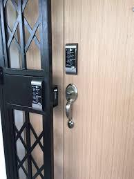 yale ydr 3110 digital door lock promotion install on hdb bto