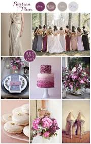 plum wedding parisian plum sparkly plum wedding inspiration with