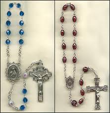 single decade rosary of custom 1 decade rosary