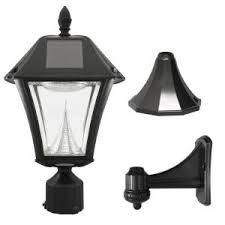 home depot black friday led light bulbs gama sonic victorian single black integrated led outdoor solar