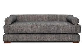 Modern Daybed Sofa Modern Size Padded Daybed Sofa With Low Back And Two Bolsters