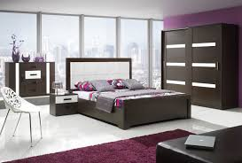 Violet And White Bedroom Bedroom Contemporary Bedroom Furniture Wooden Couch And White