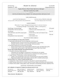 Furniture Sales Resume Sample by Objective For Furniture Sales Resume
