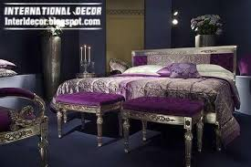 Purple Silver Bedroom - modern turkish bedroom designs ideas furniture 2014 davotanko