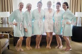 and bridesmaid robes bridal robes doie lounge