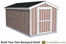 lean to shed next plans build a 8 8 simple 12 16 cabin floor plan 8x16 gable shed with 8 foot wall shed plans