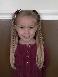 some what hairstyles for my 7 yr 25 beautiful easy little girl hairstyles ideas on pinterest