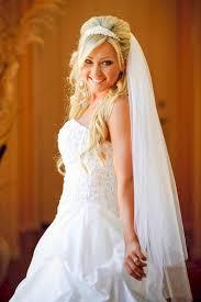 Hochsteckfrisurenen Hochzeit Mit Diadem Und Schleier by 13 Besten Hochzeitsfrisuren Schöne Brautfrisuren Bilder Auf