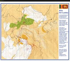 Sri Lanka Map Blank by Ella Rock Sri Lanka February 19th 2017 Orienteering Map From