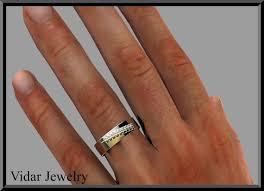 black wedding bands for custom design mens wedding band vidar jewelry unique custom