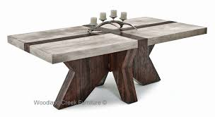 rustic modern dining room sustainable dining tables modern tables green furniture
