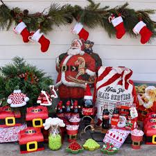 vintage santa party make life lovely
