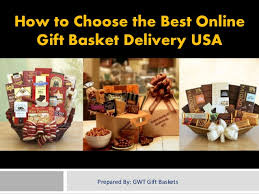 gift baskets delivery how to choose the best online gift basket delivery usa