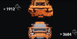lego porsche 911 gt3 rs real life lego technic porsche 911 gt3 rs is a stunning wrap