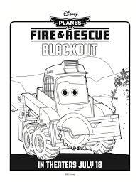 disney planes fire u0026 rescue printable coloring u2013 blackout