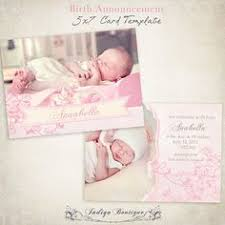 birth announcement templates baby boy 11psd commercial use