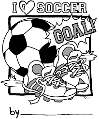 Soccer Coloring Pages To Print Coloringstar Soccer Coloring Page