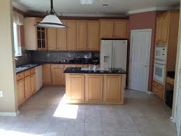kitchen paint colors with oak cabinets and white appliances lighting pictures of light oak cabinets with granite countertops