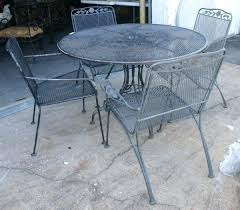 wrought iron patio table and chairs wrought iron mesh patio furniture buy wrought iron patio furniture
