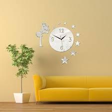 removable modern diy 3d crystal acyrlic mirror quartz wall clock removable modern diy 3d crystal acyrlic mirror quartz
