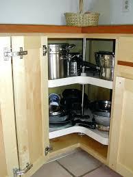 Kitchen Corner Cupboard Ideas 85 Great Corner Cabinet Lazy Susan Standard