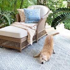 Dash Albert Indoor Outdoor Rugs Bunny Williams For Dash Albert Cleo Blue Indoor Outdoor Rug