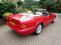 1996 mercedes sl500 with 80 miles up for auction after owner loses