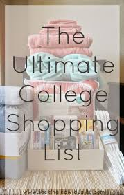 best 25 college shopping lists ideas on pinterest college shop
