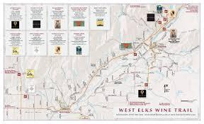 Oregon Winery Map by West Elk Wineries 14erskiers Com