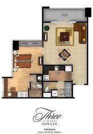 1 bedroom condo floor plans three central three central 1 bedroom unit floor plan 2 home condo