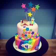 rainbow dora cake crumbs cakery u0026 cafe fernie bc