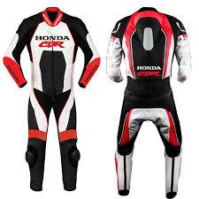 honda cbr motorbike honda cbr motorbike motorcycle leather racing 1 2 piece suit